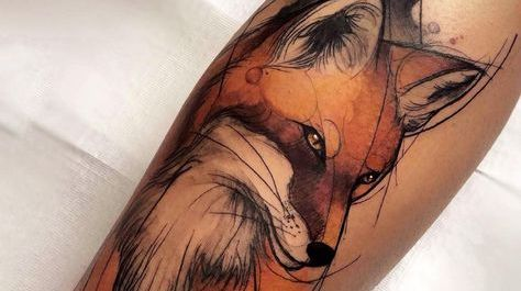 Tatouage renard : Signification et exemples